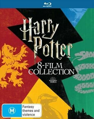 AU56.99 • Buy Harry Potter Limited Edition 8 Film Collection Blu-Ray BRAND NEW Region B