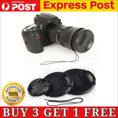 AU5.99 • Buy Camera Front Lens Protect Cap Cover For Sony Nikon Olympus Cannon Panasonic Fuji
