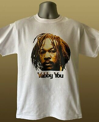 YABBY YOU T-SHIRT - Reggae - Yabby U - Big Youth King Tubby Conquering Lion • 12.99£