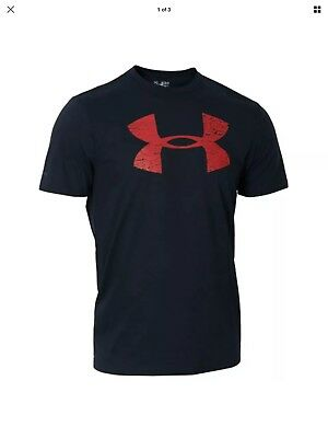 Under Armour Wales Official Rugby T-Shirt Black & Red £11.00 XLarge. • 11£