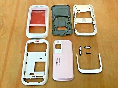 Nokia 6111 Replacement Housing - Front, Back & Battery Covers & Chassis - Pink • 4.99£