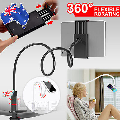 AU11.95 • Buy 360°Rotating Tablet Stand Holder Lazy Bed Desk Mount For IPad Air IPhone Samsung