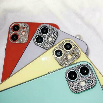 £2.50 • Buy For IPhone 11 Pro Max/11 Bling Diamond Metal Camera Lens Protector Sticker Cover