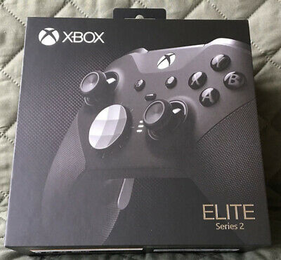 $260 • Buy Microsoft Elite Series 2 Controller Xbox One Black SEALED - IN HAND! 🔥🔥🔥 New!
