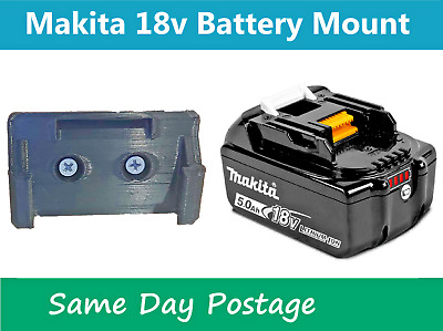 AU5.99 • Buy Makita 18V Battery Mount - Bracket Tool Holder Storage