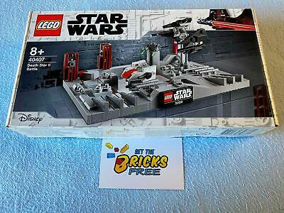 AU57.99 • Buy Lego Star Wars Exclusive 40407 Death Star II Battle New/Sealed/Retired/Hard2Find