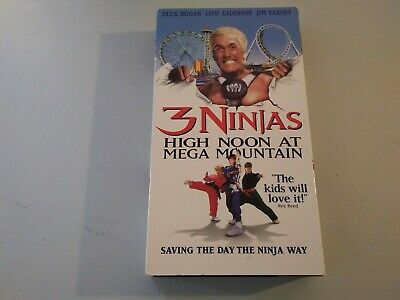 $ CDN11.97 • Buy 3 Ninjas High Noon At Mega Mountain VHS Hulk Hogan