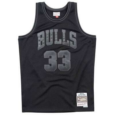 AU99.95 • Buy Scottie Pippen Chicago Bulls Mitchell & Ness NBA Tonal Black Swingman Jersey