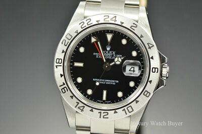 $ CDN9511.92 • Buy Mens Rolex Explorer II SS 40MM SEL Black Dial P Ser 16570 Papers