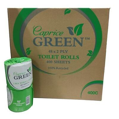 AU38 • Buy Caprice Green Toilet Paper Roll 400 Sheet Individually Wrapped