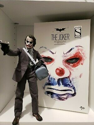 $419.99 • Buy Hot Toys MMS249 The Dark Knight Joker Bank Robber 2.0 Sideshow Exclusive 1/6