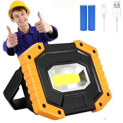 Rechargeable LED Camping Lantern Flashlight Emergency Portable Tent Lights GIFT • 10.99£