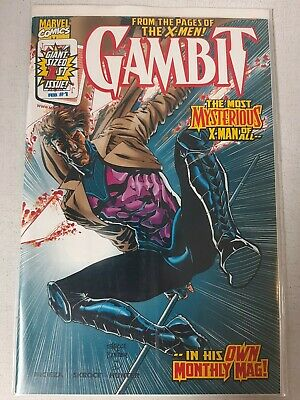 Gambit #1 Dynamic Forces Limited Variant Cover Marvel Comics 1999 COA • 17.99£