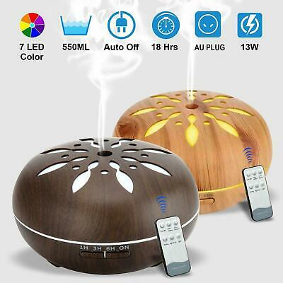 AU24.99 • Buy Ultrasonic Aroma Aromatherapy Diffuser LED Essential Oil Air Humidifier Purifier