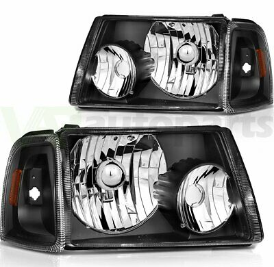 $75.76 • Buy Replacement Headlights For 2001-2011 Ford Ranger Headlamps L + R One Pair