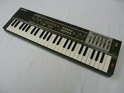 $73.88 • Buy Casio MT-100 Casiotone Keyboard Synthesizer Graphic Equalizer Tested Works