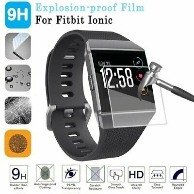 $ CDN5.61 • Buy 4x TPU Anti-Scratch Tempered Glass Screen Protector Film For Fitbit Ionic Watch
