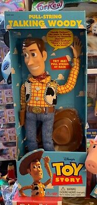 £304.64 • Buy Thinkway Toys Original 1995/96 Toy Story Pull String Woody Still New In His Box