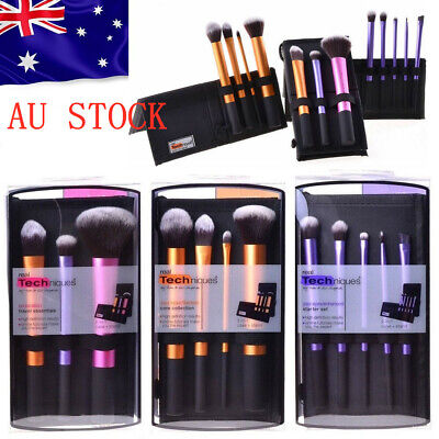 AU27.99 • Buy Make Up Brushes Real Techniques Travel Essentials/Starter/Core Collection Set