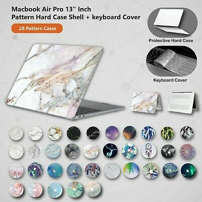 AU21.11 • Buy For Apple Macbook Air Pro 13  Inch Pattern Hard Case Shell + Keyboard Cover