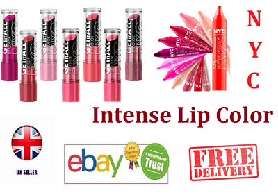 NYC Lipstick & City Proof Twistable Intense Lip Color • 2.49£