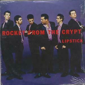 ROCKET FROM THE CRYPT Lipstick CD UK Elemental 1998 3 Track Promo In Special • 2.83£