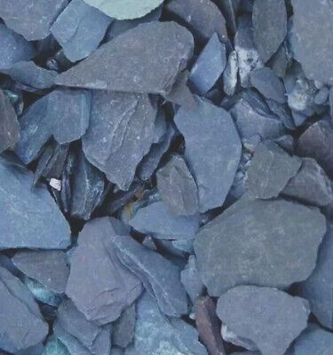 £12.59 • Buy 40mm Blue Heather Slate Decorative Chipping Driveways Landscaping Aggregate 20kg