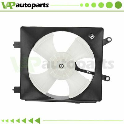 $37.09 • Buy A/C Condenser Cooling Fan Assembly For 2001-2005 Honda Civic 1.7L Driver Side
