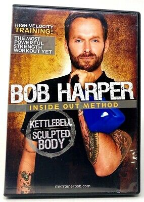 Bob Harper Kettlebell Sculpted Body Inside Out Method (DVD, 2010) • 4.91£