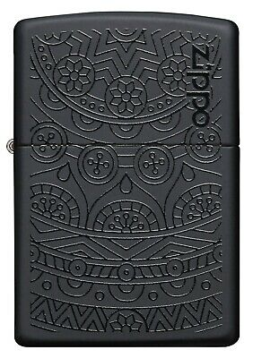 AU58.46 • Buy Genuine Zippo Lighter (93989) Swirl Pattern Block Matte Gift Box / Au Stock !