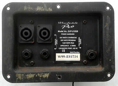 £10 • Buy Wharfedale Evp215sb Connection Plate & Crossover.
