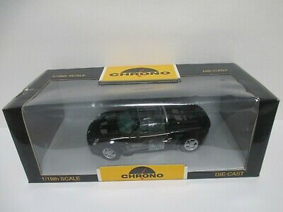 $ CDN29.99 • Buy Chrono 1997 Lotus Elise Sports Car Black 1:18 Diecast Brand New