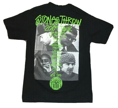 £143.90 • Buy Stussy X Stones Throw Records 2009 Tour Shirt Size Small Double Sided J Dilla