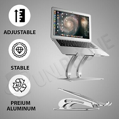 AU64.99 • Buy Adjustable Folding Aluminum Stand Ergonomic Design Portable Laptop Stand Holder