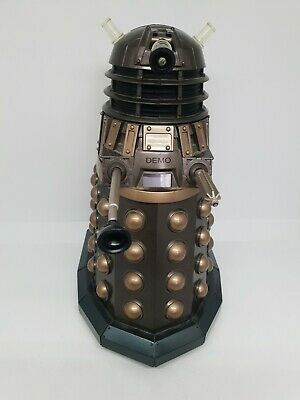 Rare Dr Who Dalek Talking Alarm Clock Wesco BBC 2004, Lights Up & Three Sounds • 49.99£