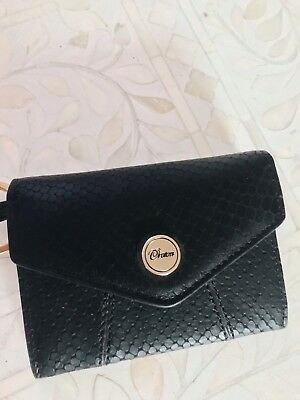 AU60 • Buy Oroton Wallet Black Snake NEVER BEEN USED