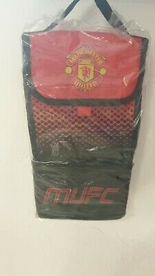 Manchester United Football Adult Kids School Office Insulated Lunch Bag Fade • 10£