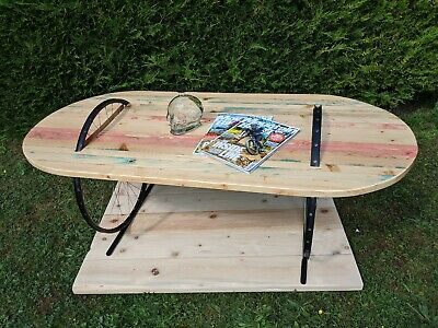 Unique Hand Made Coffe Table With Bike Rims • 285£