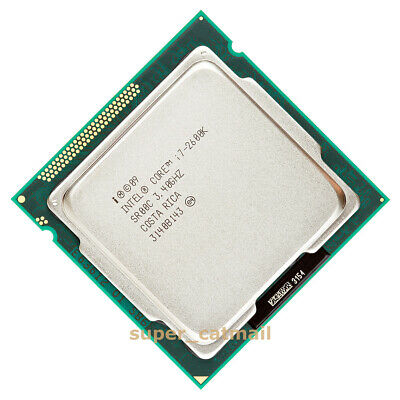 Intel Core I5-2500K I5-2550K I5-3570K I7-2600K I7-2700K LGA 1155 CPU Processor • 79£