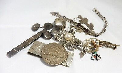 $ CDN131.81 • Buy Mixed Lot Of Sterling Silver Jewelry And Oddities 75 Dwt