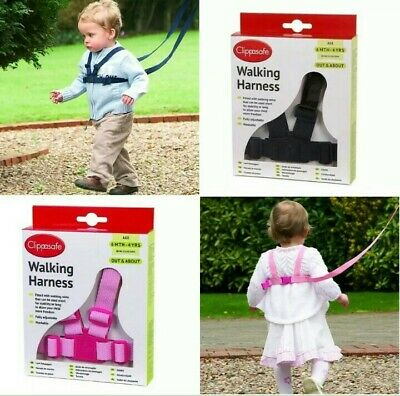 Walking Harness BABY, Toddler Child, Boys, Girls Clippasafe REINS WALK Assist UK • 7.99£