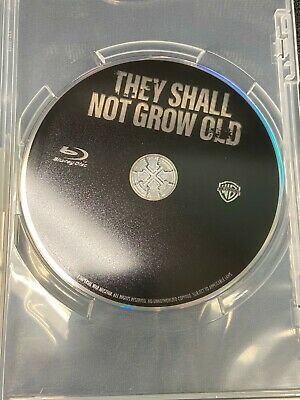 $10.99 • Buy Like New They Shall Not Grow Old By Peter Jackson BLU-RAY ONLY