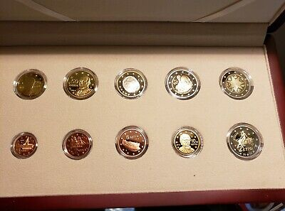 $ CDN262.32 • Buy Greece 2013 PROOF 8 EURO Coin Set With 2 Euro Coins Commemorative