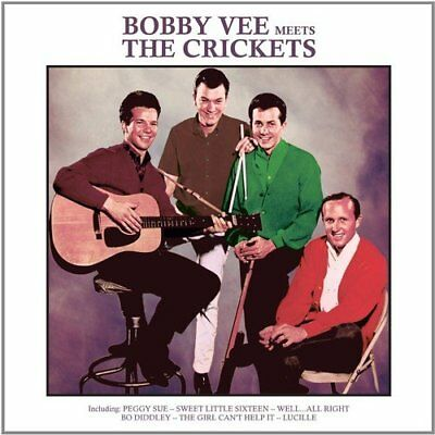 $10.65 • Buy BOBBY VEE Meets The CRICKETS  - 12 Song CD - Peggy Sue - Well Alright - Lucille