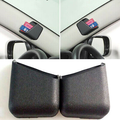 AU9.12 • Buy 2pcs Universal Black Car Accessories Phone Organizer Storage Bag Box Holder Df