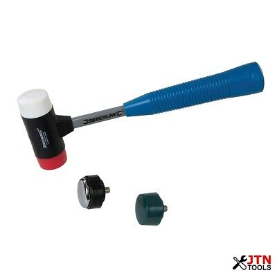Silverline 633905 4-in-1 Multi-Head Hammer 35mm Diameter Face • 10.75£