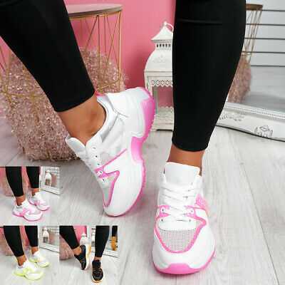 $ CDN17.52 • Buy Womens Ladies Chunky Sneakers Party Trainers Running Cycling Women Shoes Size