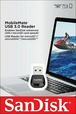 £10.25 • Buy SanDisk® MobileMate® USB 3.0 Reader For Micro SD SDHC SDXC Memory Card