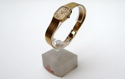 OMEGA 1011 Original 18ct Gold Vintage Ladies Watch. Reloj De Señora En Oro 750 • 2,170.45£