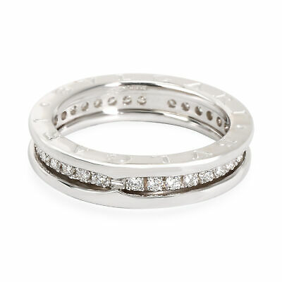 AU4080.63 • Buy Bulgari B Zero 1 Diamond Band In 18K White Gold 1 CTW